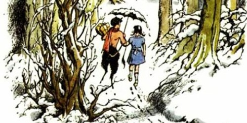 lucy and mr tumnus