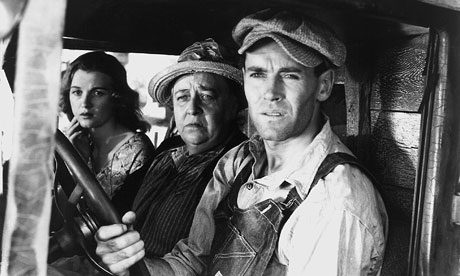 Dorrus Bowden, Jane Darwell and Henry Fonda in The Grapes of Wrath film (1940) Photograph: Allstar/Cinetext