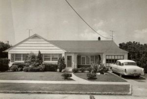 A 1950s tract house - or as we in the UK would call it - a house.