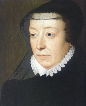 Catherine de Medici by Francois Clouet