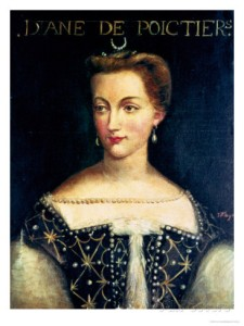 Diane de Poitiers - mistress of Catherine's husband Henri II and provider of spectacular bedroom tips!