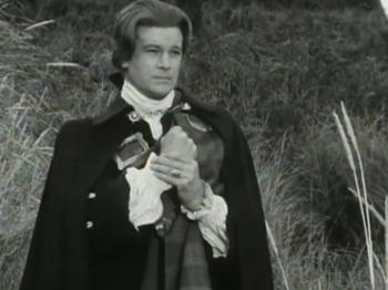 Ian McCulloch as Ewen Cameron in the 1960s TV adaptation of The Flight of the Heron.