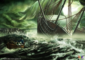 kidnapped shipwreck