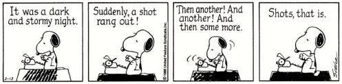 peanuts writing 2