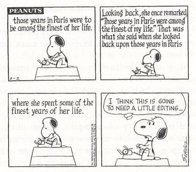 peanuts writing 3