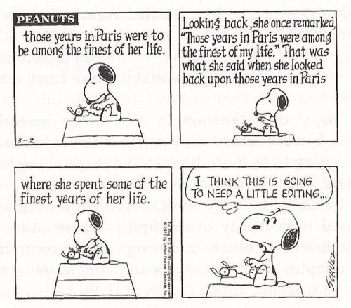 peanuts writing 3
