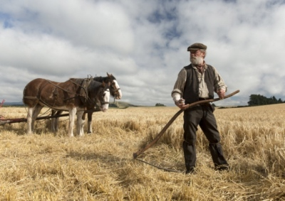 Peter Mullan as, I assume, John Guthrie, also from the forthcoming movie