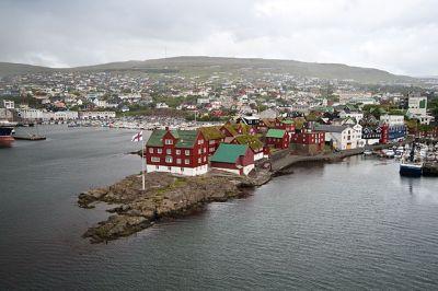"Tórshavn old town, Faroe Islands ""Tinganes 57"" by Stig Nygaard"