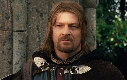 Boromir Sean Bean - a very fine actor indeed!