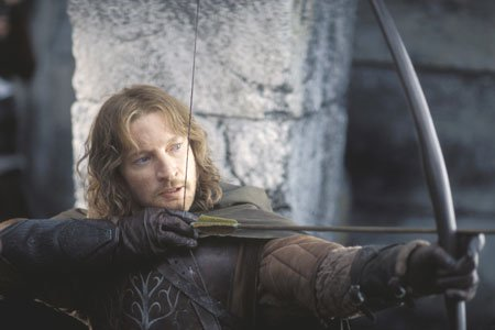Faramir David Wenham - he;s not in the Fellowship but he's a very fine actor!