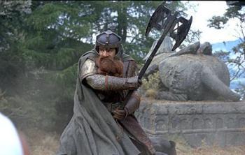 Gimli John Rhys-Davies - a fine actor!