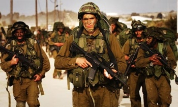 Two sides to every story... Israeli soldiers in Gaza Photo:Israeli Defence Forces handout/Reuters