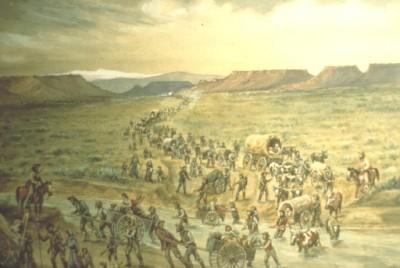 The Mormon Trek to Utah