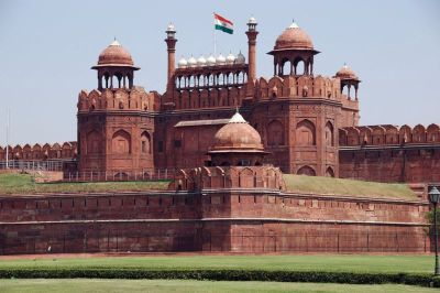 Red Fort Palace in Delhi - at the time of the book, home to the British Resident.