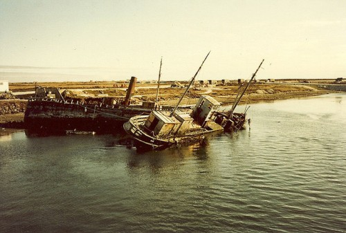 Shipwrecks off the coast of the Falklands