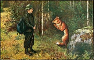 Scandinavian Fairy Tale illustration by Theodore Kittlesen 1857-1914