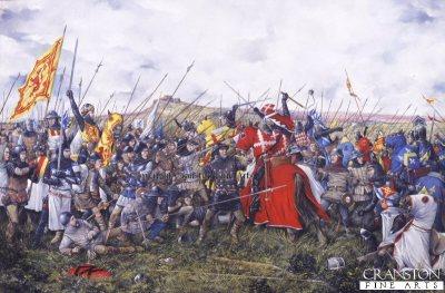 Battle of Bannockburn by Brian Palmer