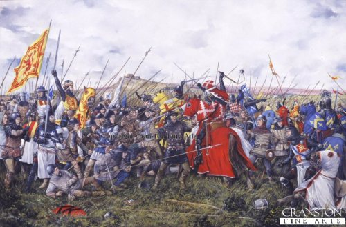 Battle of Bannockburn by Brian Palmer