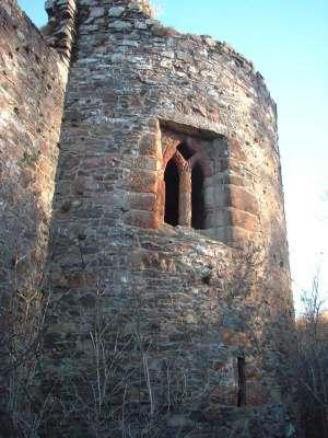 Rait Castle tower www.saveraitcastle.org