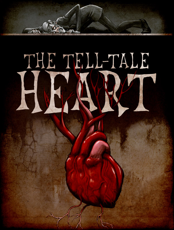tell tale heart edgar allen poe The tell-tale heart, by edgar allan poe, first printing, pioneer, 1843.