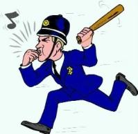 cartoon policeman