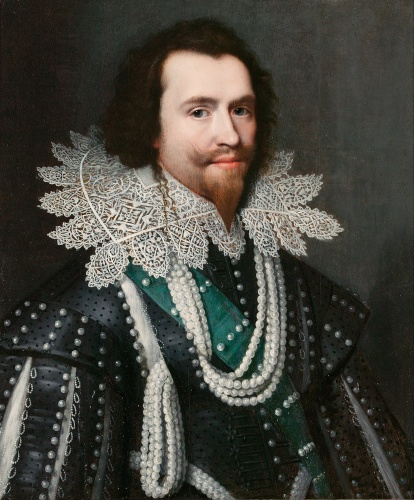 George Villiers, Duke of Buckingham by Michiel J van Miereveld