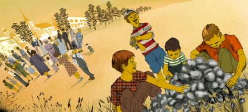 Illustration by Anita Stevens Rundles