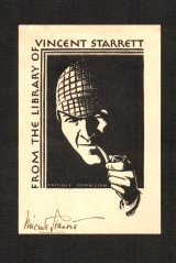 Vincent Starrett Bookplate