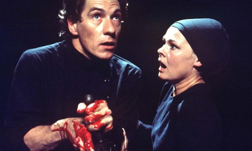 Ian Mckellen and Judi Dench in Macbeth For me, the definitive production - and available on DVD!