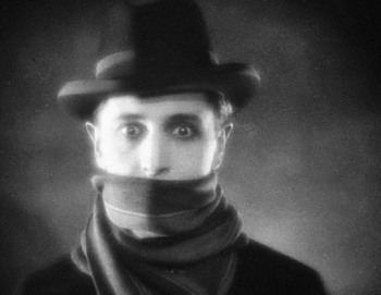 Ivor Novello in Hitchcock's The Lodger: A Story of the London Fog 1927