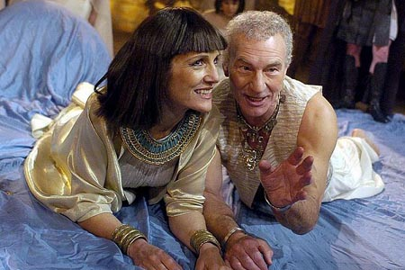 Patrick Stewart and Harriet Walter in Antony and Cleopatra Wow! I wish I'd seen that one!