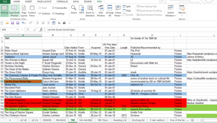Did I mention the colour coding? And the blame list of who made me add it?