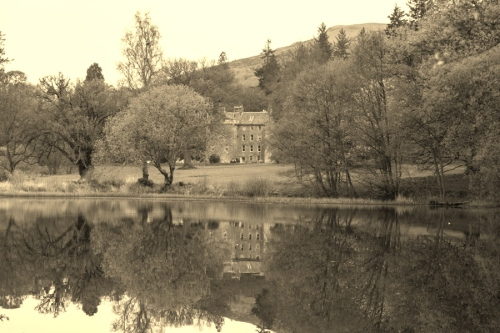 Culcreuch Castle - once upon a time home to the Chief of my own clan...