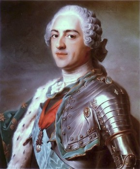 Louis XV by Maurice Quentin de la Tour