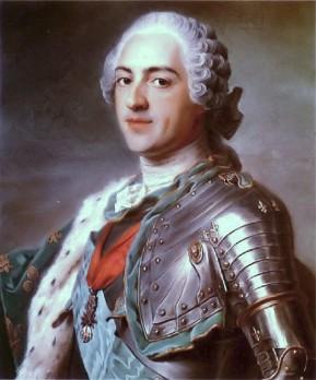 Louis XV by Maurice Quentin de la Tour