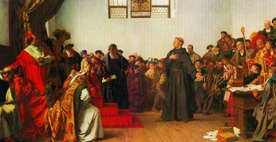 Luther Before the Diet of Worms by Anton von Werner
