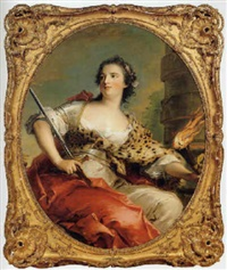 Marie Anne de Mailly-Nesle (possibly) by Marc Nattier