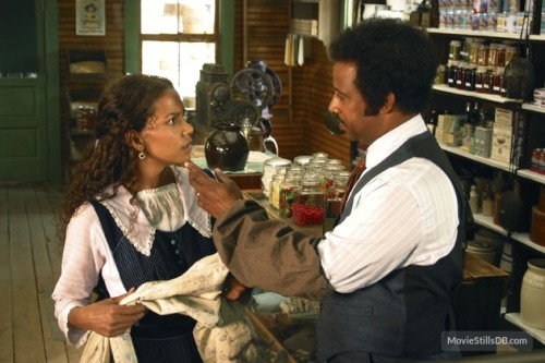 Halle Berry and Ruben Santiago-Hudson in the 2005 ABC TV movie - which even from the stills looks dreadful.