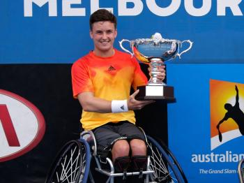 Gordon Reid - winner of the Mens Wheelchair Singles