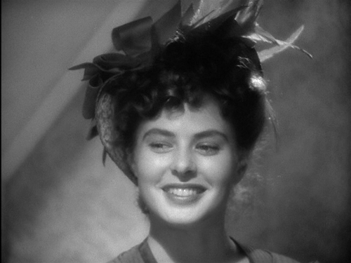 Isn't she lovely? Ingrid Bergman...