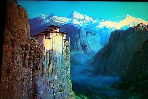 The palace at Mopu from the 1947 film by Powell and Pressburger