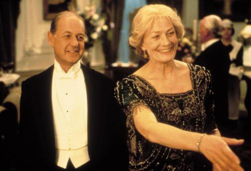 Vanessa Redgrave and John Standing in the 1997 movie of Mrs Dalloway.