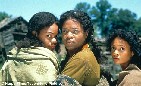 Oprah Winfrey in the 1998 movie of Beloved
