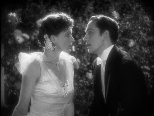 Rose Hobart and Fredric March