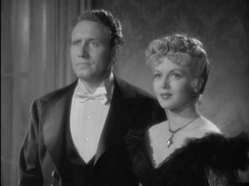Spencer Tracy and Lana Turner