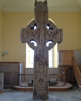 Celtic cross from Durrow Abbey