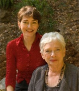 Mary Ann Shaffer (seated) and Annie Barrows
