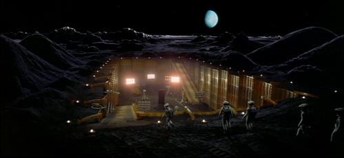 2001 moon monolith