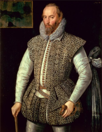 Portrait of Sir Walter Ralegh attributed to William Segar