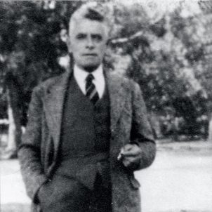 Robert Coombes as as adult around the late 1930s